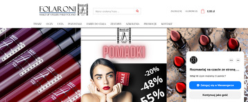 FOLARONI MAKE-UP ATELIER PARIS POLAND