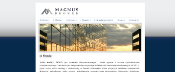 MAGNUS BROKER SP Z O O